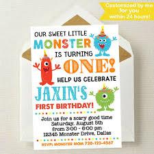 trampoline invitations little monster birthday invitation monster invitation