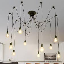Light Bulb Shades For Ceiling Lights Vintage Industrial Diy L Fixture Retro Pendant Light Ceiling