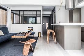 450 Sq Ft Apartment Interior Design Small Hong Kong Flat With A 600 Sq Ft Terrace Shows How To Merge