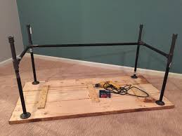 Diy Pipe Desk Diy How To Build A Desk