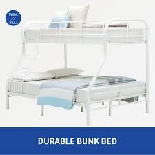 Metal Bunk Beds Twin Over Twin by Metal Bunk Beds Twin Over Full Kids Teens Dorm Bedroom Loft