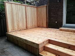 backyard cedar deck hobsonlandscapes com hobsonlandscapes com