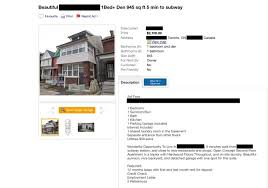 One Bedroom Apartment Toronto For Rent Landlord Said She Needed The Apartment Then It Popped Up For Rent