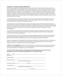 general liability waiver general liability release of claims form