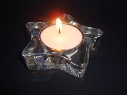 star shaped tea lights clear glass star shaped tealight nightlight candle holder sunset