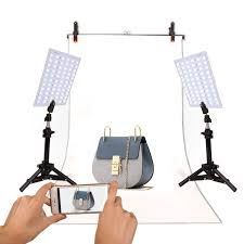 led studio lighting kit ginson photography 132 led studio lighting kit adjustable light