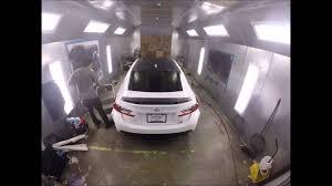 lexus rc 350 matte black lexus rc f roof spoiler 4d carbon fiber vinyl wrap youtube