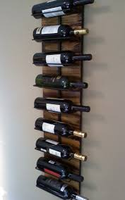 wall hanging wine rack for 9 via etsy i want to live here