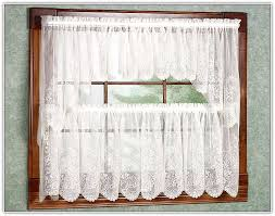 lace kitchen curtains valances home design ideas