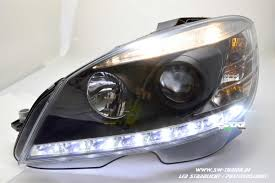 Position Light Sw Light Headlights For Mercedes C Class W204 07 11 Led