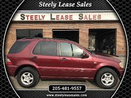 mercedes m class lease used 2000 mercedes m class for sale in bessemer al 35022