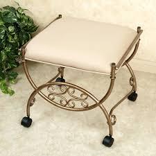 White Vanity Stool Gorgeous White Vanity Chair And Stool Ottomans Safavieh Style