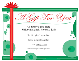 template christmas letter update 66953 make your own gift vouchers template free 27 free blank gift certificate template christmas letter templates