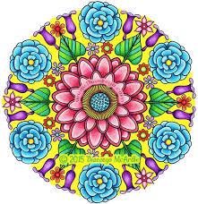 flower mandalas coloring book thaneeya mcardle u2014 thaneeya