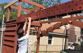 ny dad builds custom ninja warrior gym for 13 year old son daily