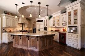kitchen french custom kitchen designer with white and brown