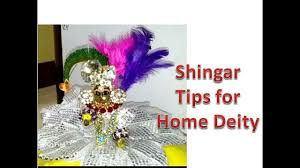 permanent u0026 temporary shingar tips for home deity apply kajal