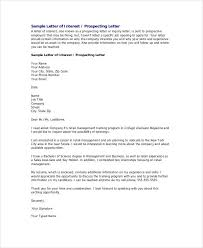 examples of inquiry letters for business letter of interest 12 free sample example format free