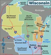 Wisconsin Public Land Map by Wisconsin U2013 Travel Guide At Wikivoyage