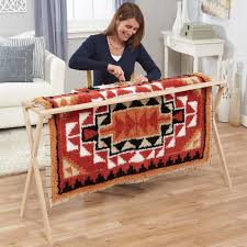 Latch Hook Rugs For Sale Frank Edmunds U0026 Co Hardwood Latch Hook Frame Tool