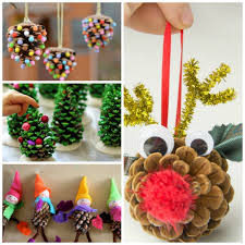 pine cone crafts for growing a jeweled