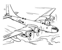 airplane coloring pages passenger plane coloringstar
