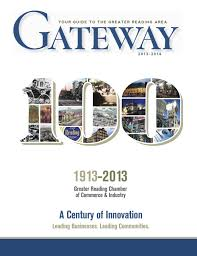 greater reading chamber of commerce u0026 industry gateway 2013 14