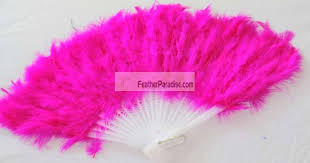 feather fans hot pink marabou feather fan wholesale wedding costuming crafts