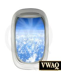 airplane window wall decal clouds aviation peel and stick aerial