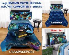 Batman Twin Bedding Set by Video Games Comforters And Sets Ebay