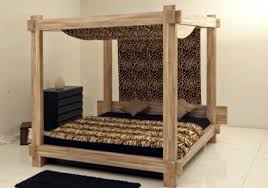 Wood Canopy Bed 50 Cool Ideas For Canopy Beds Made Of Wood In The Bedroom