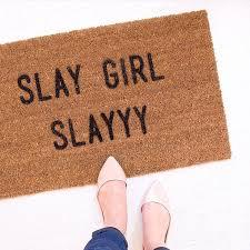 Outdoor Mats Rugs by Slay Slayyy Outdoor Mats Doormats Door Mat Rugs Home