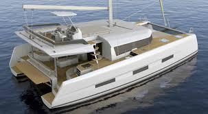 new catamaran alert dufour 48 sailing catamaran