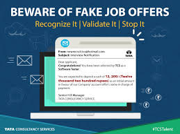 don u0027t be misled by fake offers validate your tcs offer letter