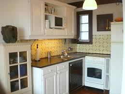 Small Kitchen Remodel Featuring Slate Tile Backsplash by Nice Small Kitchen Layout Ideas Small Kitchen Design Layout