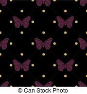 wallpapers of glitter butterflies netting outline seamless pattern with gold glitter insects