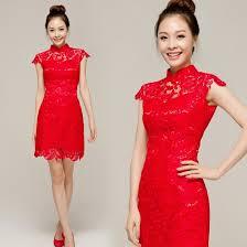 wedding evening dress lace cheongsam qipao wedding evening dress