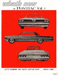 pontiac car brochures