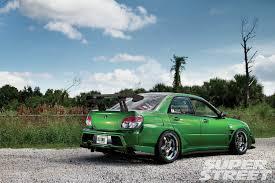 green subaru hatchback 2006 subaru wrx tr super street magazine