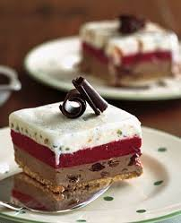 chocolate cherry pistachio and raspberry ice cream cake recipe