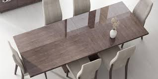 italian extendable dining table italy made prestige extendable walnut dining set with chairs