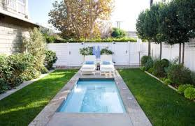 backyard rectangular beautiful small pool designs outdoor
