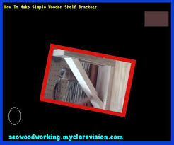 wooden shelf bracket design 195531 woodworking plans and