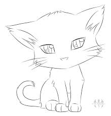 25 easy cat drawing ideas cute cat