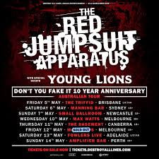 the jumpsuit apparatus don t you it the jumpsuit apparatus 2nd melb across the