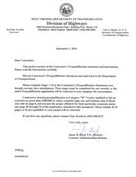 west virginia contractors prequalification statement fill online