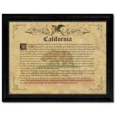 California State Flag State Vintage History Flag Home Décor Office Wall Art Rustic