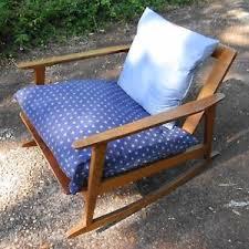 Mid Century Modern Rocking Chair Mid Century Rocking Chair Ebay