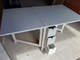 norden gateleg table create a cute area full of functional appeal