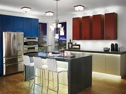Led Lighting Kitchen Under Cabinet by Kitchen Flush Mount Light Fixture Kitchen Oak Floor Kitchen Led